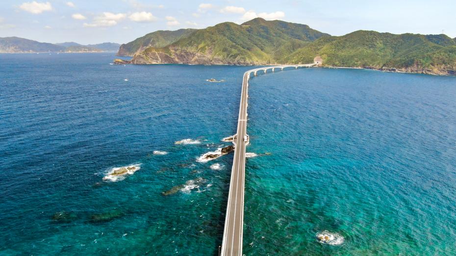 薩摩川内・甑島-2020年8月に開通した甑大橋