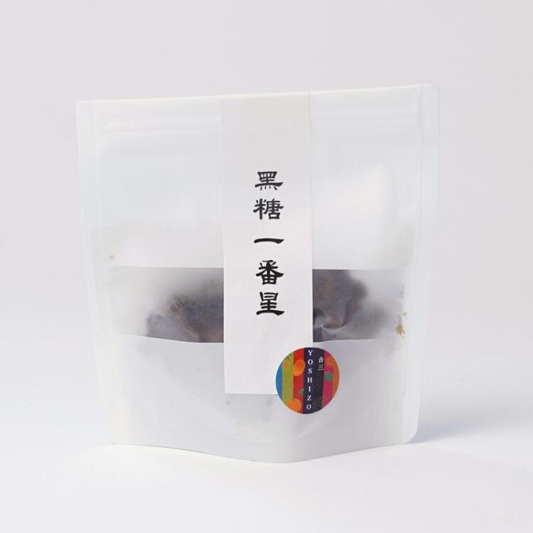 徳之島 黒糖一番星(袋入り)40グラム
